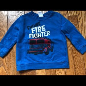 "Baby ""Future Firefighter"" Pullover"